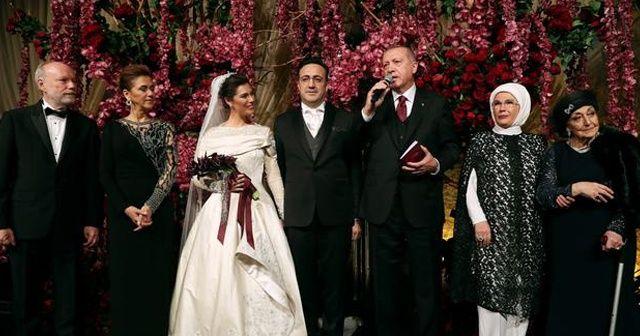 Cumhurbaşkanı Erdoğan, İlker Aycı'nın düğününe katıldı