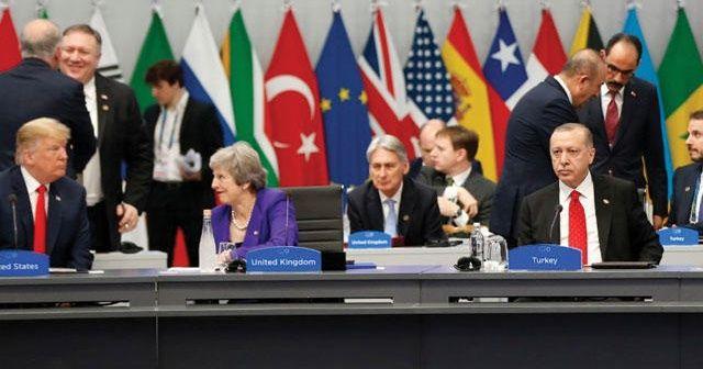 Cumhurbaşkanı Erdoğan ve Trump G-20 zirvesinde görüştü
