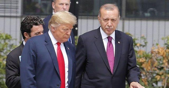 Cumhurbaşkanı Erdoğan ve Trump'ın görüşme saati belli oldu