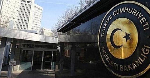 """Dışişleri Bakanlığı'ndan """"Doğu Kudüs"""" açıklaması"""