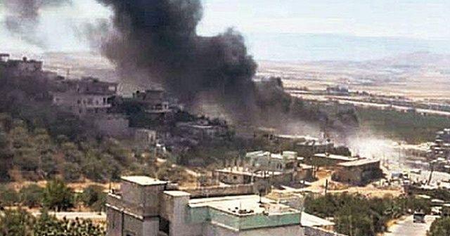 Esad rejimi Hama kırsalına saldırdı
