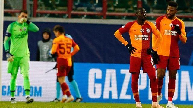 Galatasaray'a Moskova'da soğuk duş