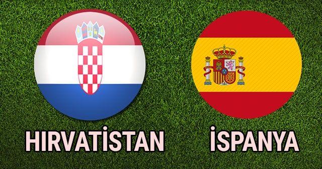 Hırvatistan İspanya MAÇI ÖZETİ VE GOLLERİ İZLE | Hırvatistan İspanya Maçı Kaç Kaç Bitti?