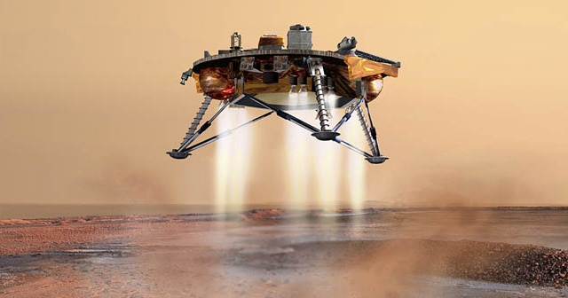 NASA'nın Mars'a gönderdiği InSight iniş yaptı
