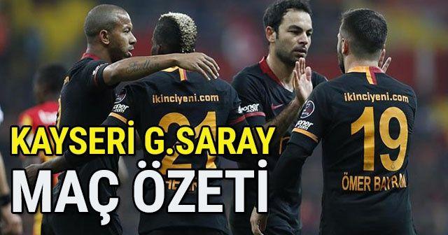 ÖZET İZLE: Kayserispor Galatasaray Maçı GENİŞ ÖZETİ Golleri İZLE! Kayseri GS MAÇI Kaç Kaç Bitti? Kayseri GS FULL özet VİDEO