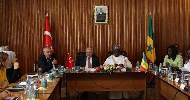 TBMM Başkanı Yıldırım Senegal'de