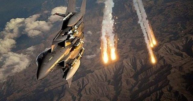 TSK'dan hava harekatı, 5 terörist etkisiz hale getirildi