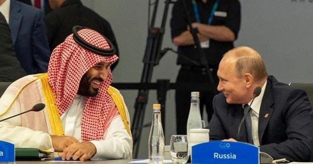 Veliaht Prens Selman, Putin ve Macron ile görüştü