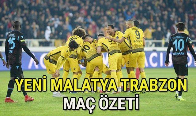 Yeni Malatyaspor Trabzonspor GENİŞ Özeti Golleri İZLE! Malatya Trabzonspor Maçı Kaç Kaç Bitti? Trabzon Malatya ÖZET videosu