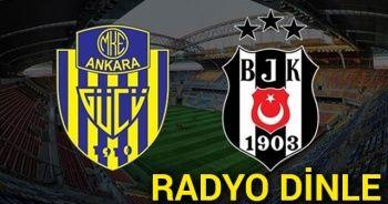 Ankaragücü Beşiktaş CANLI RADYO DİNLE ! Ankaragücü BJK Canlı Veren Radyo KANALLARI DİNLE