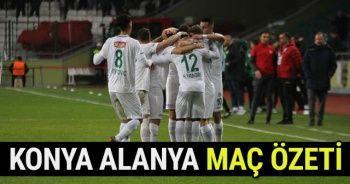 Atiker Konyaspor - Aytemiz Alanyaspor Maçı FULL Özeti Golleri izle! ! Konya Alanya Maç Özet Videosu