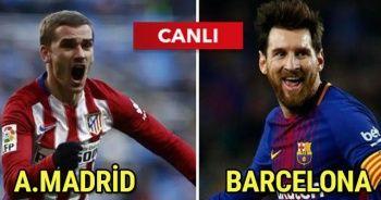 Atletico Madrid Barcelona Maçı CANLI İZLE Hangi Kanalda? Şifresiz Veren Kanallar var mı? BEİNSPORTS 2 AZ TV İdman TV CBC sport canlı izle