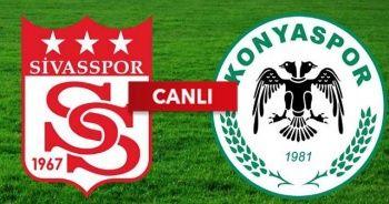 Demir Grup Sivasspor - Atiker Konyaspor özeti izle! Sivas Konya maçı skor kaç kaç bitti?