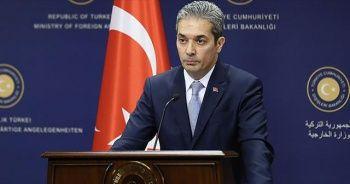 Dışişleri Bakanlığı Sözcüsü Aksoy: Fransa'daki gelişmeleri yakından ve endişeyle takip ediyoruz