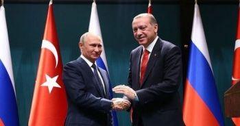 Erdoğan-Putin arasındaki görüşme sona erdi