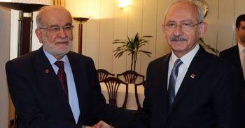 Kılıçdaroğlu ve Karamollaoğlu görüşmesi sona erdi
