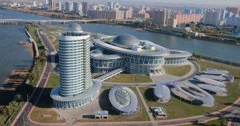 Kim Jong-Un Bilim Ve Teknoloji Merkezi göz kamaştırıyor!