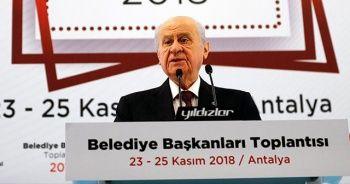 MHP Genel Başkanı Bahçeli: MHP Cumhurbaşkanlığı Hükümet Sisteminin aktif öğesidir