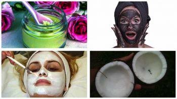 Sivilce Lekelerine Çözüm Evde Maske Doğal Sivilce Maskeleri