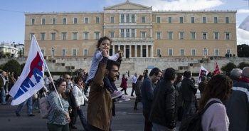 Yunanistan'da genel grev hayatı olumsuz etkiledi
