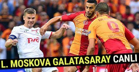CBC Sport, Beinsports, AZ TV İDMAN TV CANLI İZLEME linki! (Lokomotiv Moskova Galatasaray Şampiyonlar Ligi MAÇI Canlı İzle)