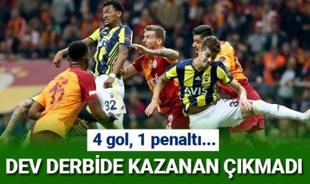 ÖZET İZLE Galatasaray 2-2 Fenerbahçe Maç Özeti Ve Golleri İZLE VİDEO Full ÖZET | GS FB Kaç Kaç Bitti?