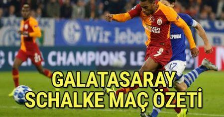 ÖZET İZLE: Galatasaray-Schalke 04 MAÇI FULL ÖZETİ GOLLERİ VİDEO İZLE! Schalke GS Maç Özeti! Schalke GS Maçı kaç kaç bitti İZLEe