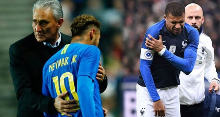 PSG'ye iki şok birden! Neymar ve Mbappe sakatlandı