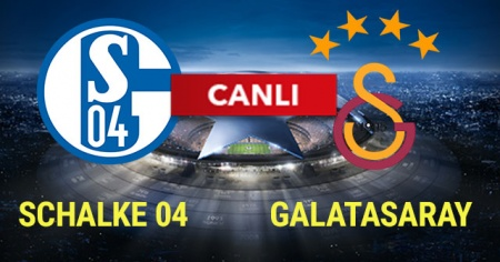 Schalke Galatasaray MAÇI BeinSports HD 1, BeinSports 4K, CBC SPORTS HD,AZ TV ve İDMAN TV CANLI İZLE! (Schalke GS Şampiyonlar Ligi maçı)