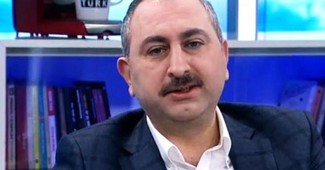 Adalet Bakanı Abdulhamit Gül'den flaş FETÖ açıklaması