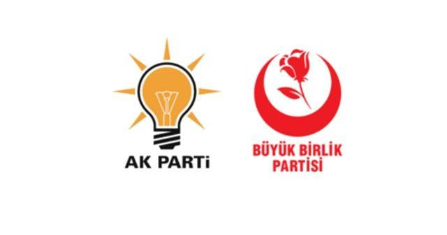 AK Parti ile BBP arasında ittifak görüşmesi