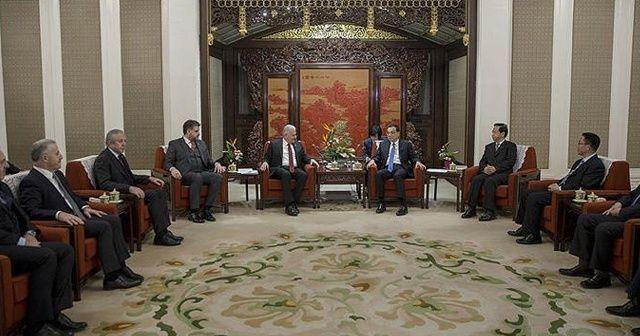 Binali Yıldırım: Çin'i stratejik dost bir ülke olarak görüyoruz