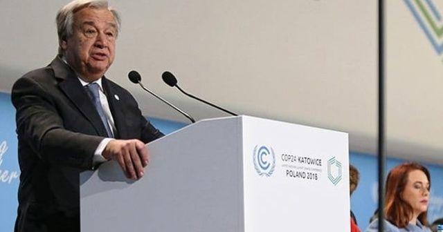 BM Genel Sekreteri: Geç olmadan çözüm bulmalıyız