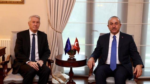 Çavuşoğlu, Avrupa Konseyi Genel Sekreteri Jagland ile telefonda görüştü