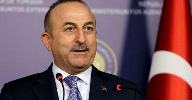 Çavuşoğlu: Terör örgütleriyle mücadelemiz kararlılıkla devam edecek