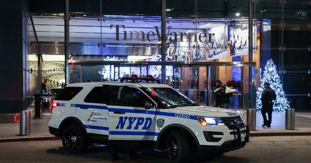 CNN'in New York ofisinde bomba alarmı, canlı yayın durduruldu