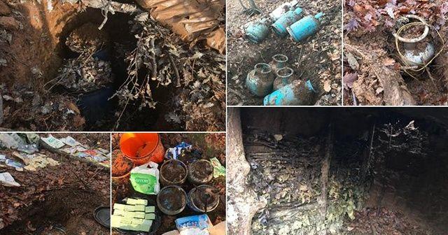 Diyarbakır'da terör örgütü PKK'ya operasyon: 3 sığınak imha edildi