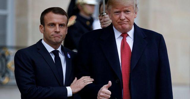 Donald Trump'tan olay Fransa açıklaması! Tiye aldı