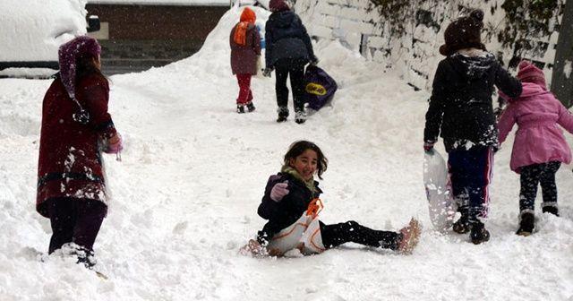 Elazığ, Tunceli ve Bingöl'ün ise Yedisu ile Yayladere ilçelerinde kar tatili