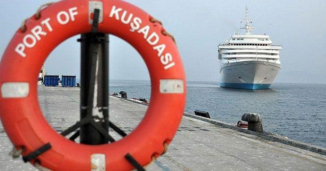En fazla turistik gemi Kuşadası'na geldi