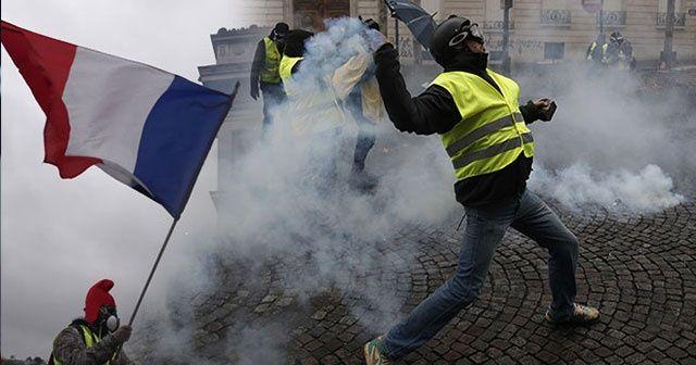 Fransa akaryakıtta vergi artışını 6 ay erteledi