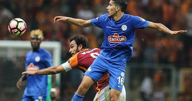 Galatasaray ile Rizespor 35. randevuda