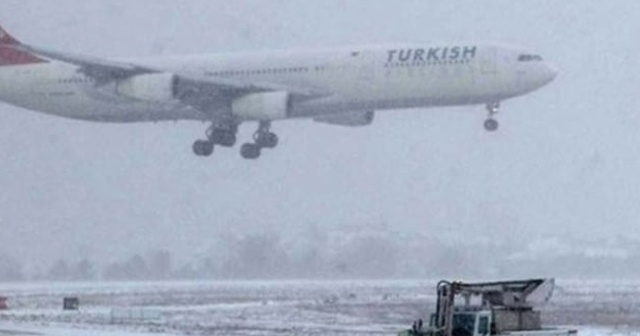 Gaziantep'te uçak seferleri iptal