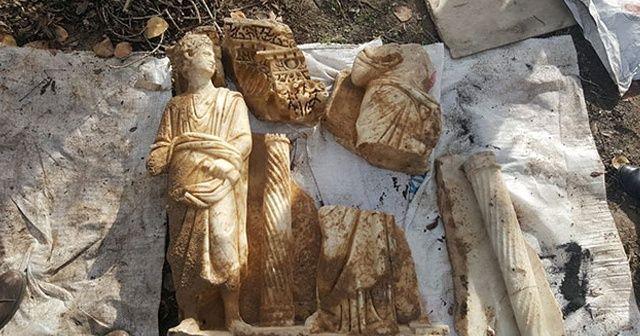 Isparta'da 1600 yıllık Sidamara lahdi ele geçirildi