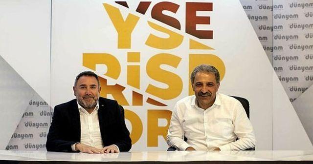 Kayserispor'un ismine dev sponsor