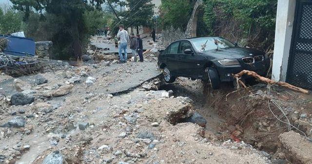 KKTC'de şiddetli yağış, 3 kişi hayatını kaybetti