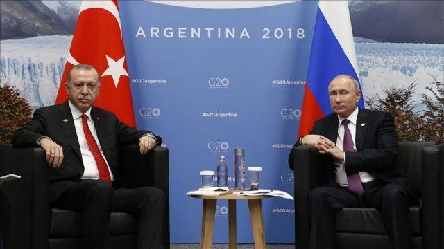 Putin'den Türkiye ile iş birliği vurgusu
