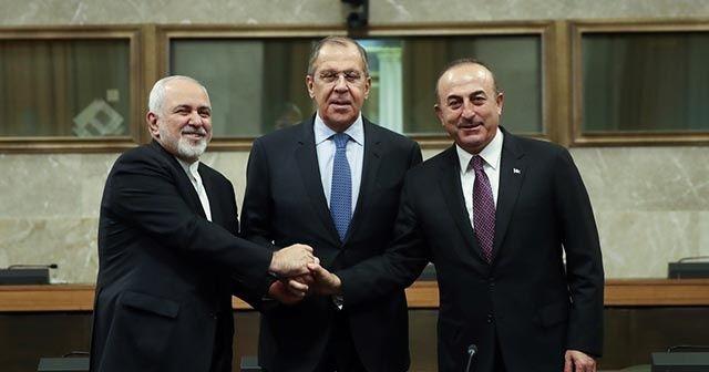 Türkiye, Rusya ve İran, Suriye konusunda anlaştı