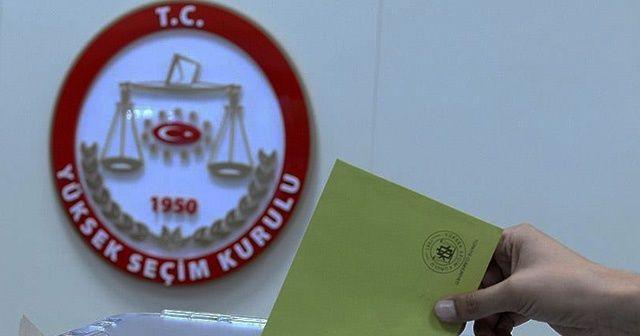 Yerel seçimlerde adaylık için istifa süresi sona erdi
