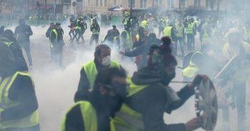 'Sarı yelekliler' Juncker'in Fransa ziyaretine engel oldu